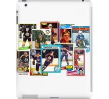NHL Legends of the 80s iPad Case/Skin