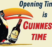Opening Time is Guinness Time by davidyarb