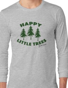 Happy Little Trees Long Sleeve T-Shirt