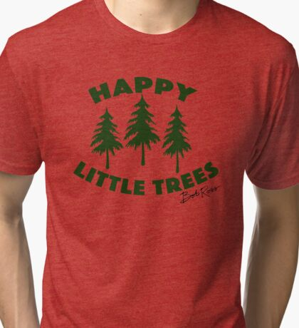 Happy Little Trees Tri-blend T-Shirt