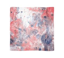 Poppy pollen. Watercolor, Abstract Drawing Scarf