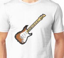 8 Bit Guitar Unisex T-Shirt