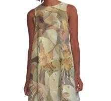 Cherry blossom pattern A-Line Dress