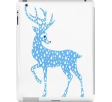 Red Nose Rain Deer iPad Case/Skin