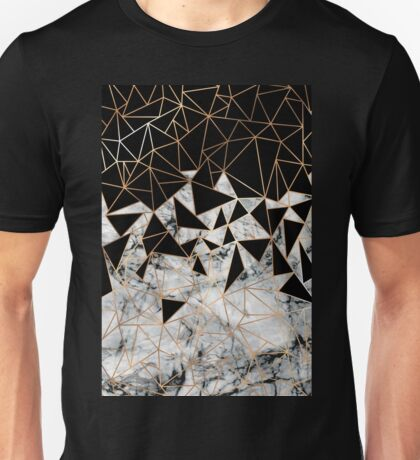 Marble polygon pattern Unisex T-Shirt