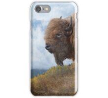 golden bison iPhone Case/Skin