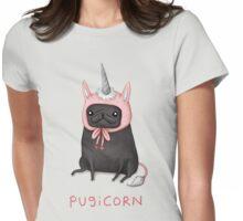 Pugicorn Womens Fitted T-Shirt
