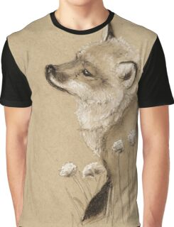 Baby Fox Graphic T-Shirt