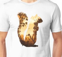 Squirrels in the Fall Unisex T-Shirt