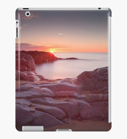 Sunrise over Bracelet Bay iPad Case/Skin