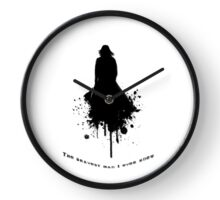 The Bravest \  Black-White concept Clock