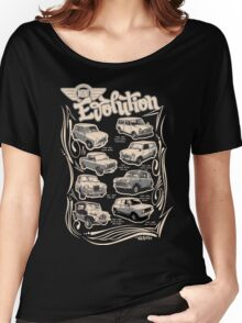 Evolution Of Mini Women's Relaxed Fit T-Shirt