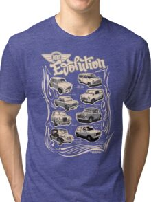 Evolution Of Mini Tri-blend T-Shirt