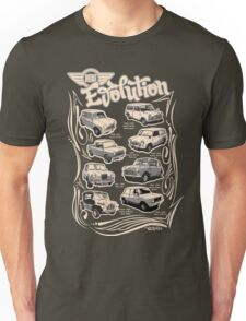 Evolution Of Mini Unisex T-Shirt