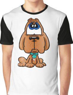 Dogue de Bordeaux - Marley Cartoon Character Graphic T-Shirt