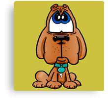 Dogue de Bordeaux - Marley Cartoon Character Canvas Print