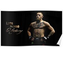 Conor Mcgregor History T-shirt Poster