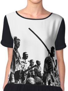 Samurai Warriors Chiffon Top