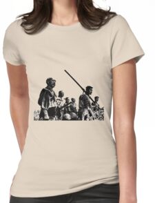 Samurai Warriors Womens Fitted T-Shirt