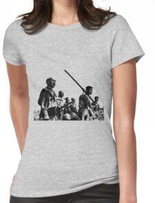 Samurai Warriors Womens Fitted T-Shirt