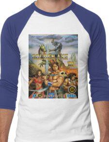 Golden Axe III Sega Genesis Japanese Cover Men's Baseball ¾ T-Shirt