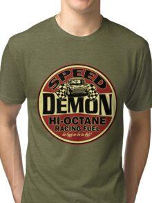 Mini speed Demon Tri-blend T-Shirt