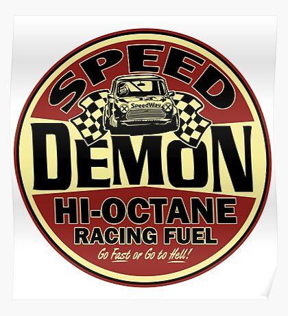 Mini speed Demon Poster