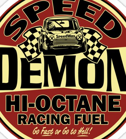 Mini speed Demon Sticker