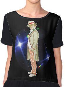 The 5th Doctor - Peter Davison Chiffon Top