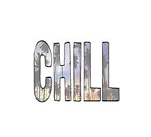 chill Photographic Print