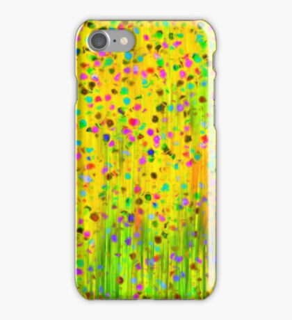 Impressionist meadow iPhone Case/Skin