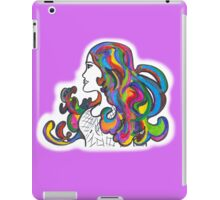 Rainbow Nouveau  iPad Case/Skin