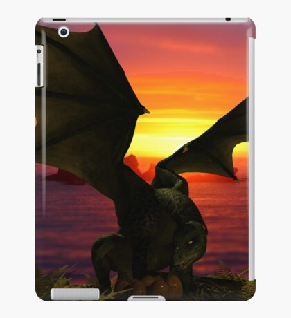Checking on the Babies iPad Case/Skin