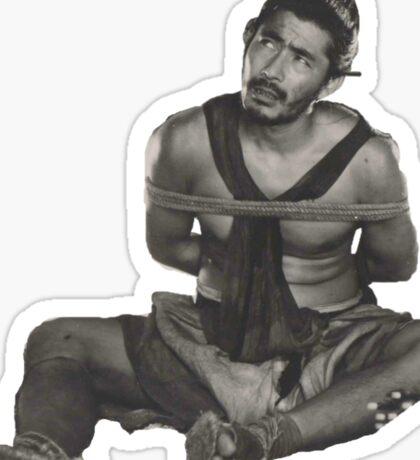 Mifune Rashomon Sticker