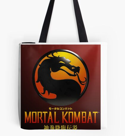 Mortal Kombat Japanese Cover  Tote Bag