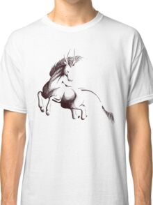 Kirin-Ballpoint Pen Drawing Classic T-Shirt