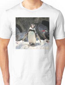 Penguin in his natural habitat Unisex T-Shirt