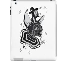 cat and witch iPad Case/Skin