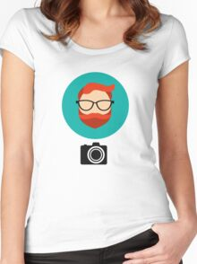 Photographer blogger Women's Fitted Scoop T-Shirt
