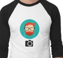 Photographer blogger Men's Baseball ¾ T-Shirt