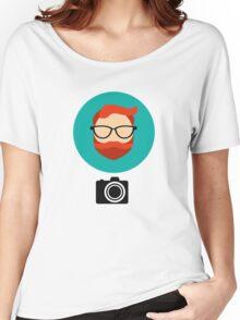 Photographer blogger Women's Relaxed Fit T-Shirt