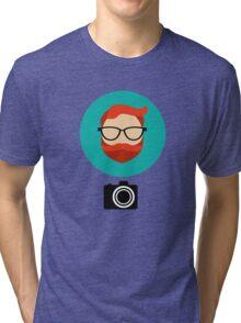 Photographer blogger Tri-blend T-Shirt