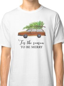 Christmas vacation, tis the season to be merry Classic T-Shirt