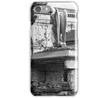 ancient angel on the memorial iPhone Case/Skin