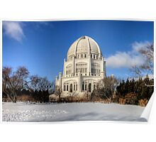 Baha'i House of Worship for the North American Continent Poster