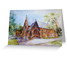 St Laurences O'Toole Church, Forbes NSW,Australia Greeting Card