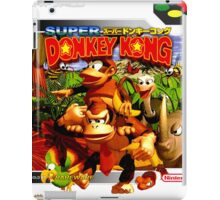 Donkey Kong Country Japanese Cover iPad Case/Skin