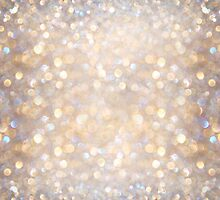 Glimmer of Light (Ombré Glitter Abstract) by soaringanchor