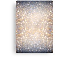 Glimmer of Light (Ombré Glitter Abstract) Canvas Print