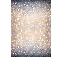 Glimmer of Light (Ombré Glitter Abstract) Photographic Print